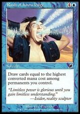 MTG 4x RUSH OF KNOWLEDGE - Scourge *CARD DRAW*