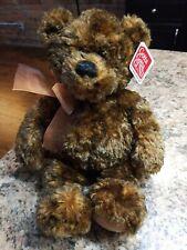 """Gund Very Soft Cuddly 13"""" Teddy Bear BENSON Plush Stuffed Animal w/ Bow"""