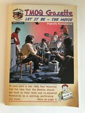 """THE BEATLES """"LET IT BE"""" THE MOVIE DVD AND CD SOUNDTRACK TRADE MARK OF QUALITY!!"""