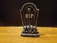 RIP Cement Tombstone A for Barbie, Monster High, Tonner Halloween Dioramas