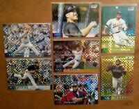 x7) 2020 Topps Stadium Club Chrome Xfractor SP Lot Retail Exclusive- Hader,...