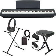 Yamaha P-125 Digital Piano - Black