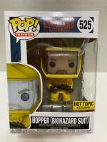 FUNKO POP! STRANGER THINGS #525 HOPPER IN BIOHAZARD SUIT HOT TOPIC EXCLUSIVE