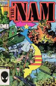 THE NAM #1-84 NEAR MINT 9.4 COMPLETE SET 1986 MARVEL COMICS