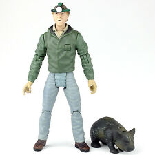 "Crocodile Hunter Night Rescue STEVE IRWIN & Wombat 6"" Action Figure N2 Toys 2000"