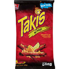 TAKIS Nitro Habanero Lime Tortilla Chips 9.9 Oz New Sealed Fresh