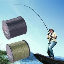 100M 4 Strand 6-80LB Super Strong Japan Multifilament PE Braided Fishing Line