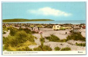 Postcard Black Rock Sands Morfa Bychan Wales