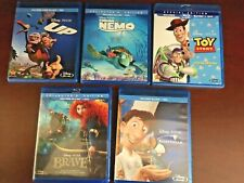 New listing Lot of 5: Up, Ratatouille, Toy Story, Brave, Finding Nemo - BluRay: All Like New