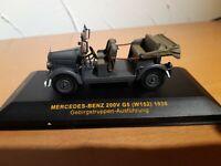 MB Mercedes Benz 200V G5 W152 1938 Gebirgstruppen Ausführung 1:43 IXO Museum Box