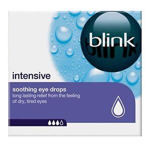 Blink Intensive Soothing Eye Drops - 20 x 0.4ml Vials