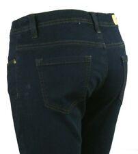 Denim Boulevard Dark Blue Classic Five Pocket Denim Jeans Juniors Size 11 Large