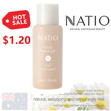 Natio Fluid Makeup Foundation Base TAN MADE IN AUSTRALIA
