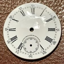 PATEK PHILIPPE Porcelain Dial Pocket Watch Early 1900's Yellow Gold OEM