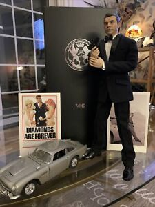 James Bond 1:6 Sean Connery Goldfinger Hot Toy Black Box