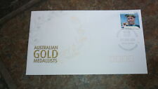 2004 AUSTRALIAN OLYMPIC GOLD MEDAL STAMP FDC, GRANT HACKETT CHATSWOOD PM