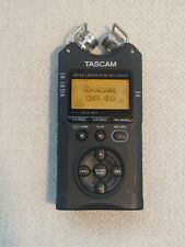 *Working* Tascam Dr-40 Portable Linear Pcm Digital Audio Recorder + 16Gb Sd Card