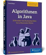 Algorithmen in Java - David Kopec (Broschiert / Buch) Deutsch / 2021