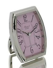 Réveil / Pendulette de voyage, Pompidour, RAPPORT, cadran rose R153, NEUF