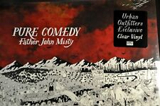 """Father John MISTY Pure Comedy Orig 2017 12"""" US CLEAR VINYL x2 Red Sleeve Ltd UO"""