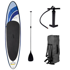 SUP Board Stand Up Paddling Surfboard aufblasbar inkl. Paddel ISUP Paddle 300cm