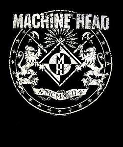 MACHINE HEAD cd cvr Hellalive CLASSIC CREST Official SHIRT XL new