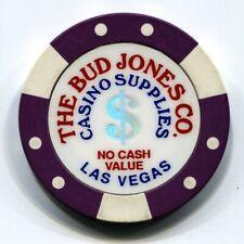 New listing Bud Jones Manufacturer Sample Casino Chip