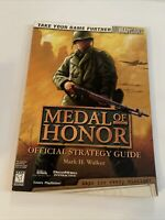 Medal of Honor Official Strategy Guide by BradyGames Staff (1999, Paperback)