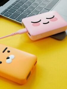 Kakao Friends Authentic Square PD Fast Charge Power Bank Battery 10000mAh
