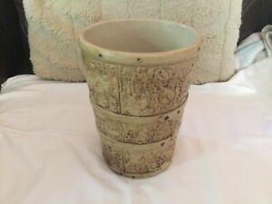 Vintage Hillstonia Large Stoneware Plant Pot / Vase