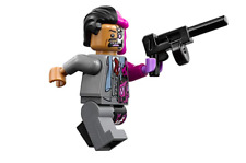 Lego DC Batman Minifigure Two-Face & Weapon 70915 **New** **Rare**