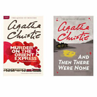 Murder on the Orient Express, And Then There Were None by Agatha Christie