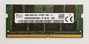16GB DDR4 2133MHz Laptop RAM Hynix ~~ PC4-17000 PC4-2133P SODIMM Memory 260pin