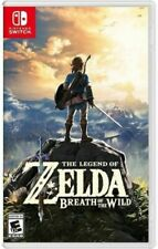 Brand New Sealed The Legend of Zelda: Breath of the Wild - Nintendo Switch Games