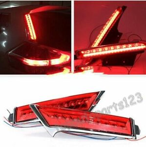 FOR Nissan Rogue X-Trail 2014-2016 Rear Window Decoration Lamp Led Brake Lights