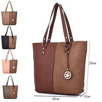 Women's Large Designer Tote Bag New Shoulder Handbag Cross Body Shopper Bag