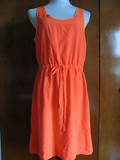 Gap women's orange lined summer dress size Medium NWT