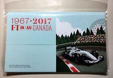 Rare 2017 Canada Post Recalled -  F1 Formula 1 FDC (Villeneuve FDC)