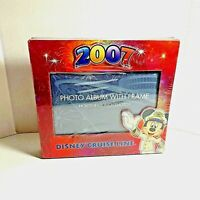 Disney Cruise Line Mickey Mouse 2007 Photo Album With Frame | 4x6 Photos