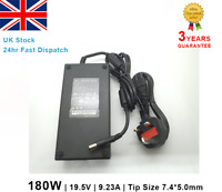 Laptop Charger AC Adaptor for Dell Alienware XPS G7 Inspiron 180W 19.5V 9.23A