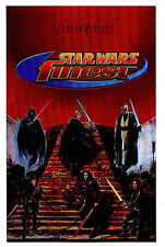 Star Wars Topps Finest Jedi Legacy Mastervisions Foil Promo 6X10 Card 1996 H14