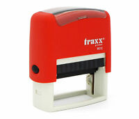 Personalised Rubber Stamp Self inking Name Business Address Garage School etc