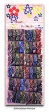 Safety pins -Wholesale Lots 48 Colored Flower Bow Hijab Pins Shipped From USA