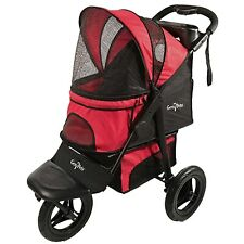 Gen7Pets G7 Pathfinder Red Jogger Stroller For Pets Up to 75 lbs New Free Ship