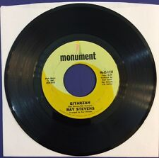"Ray Stevens - Gitarzan / Bagpipes - That's My Bag - EX Vinyl 7"" 45 RPM 1969"