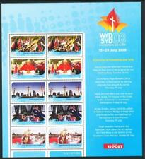 Australian 2008 World Youth Day Sheetlet Mint