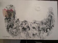 LEBADANG, HORSES, STAMPED FROM GALLERY, FIRST LITHOGRAPH HC