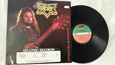 MORE - MORE BLOOD AND THUNDER - VINTAGE 1982 ATLANTIC RECORDS PROMO LP