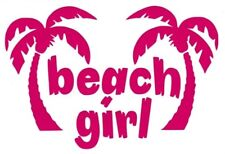 Beach Girl vinyl sticker decal Car truck suv