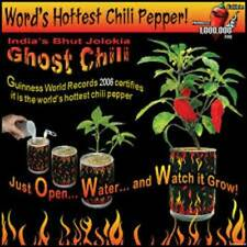 Magic Plant Ghost Chili Pepper Bhut Jolokia Grow Kit Shipped Anywhere in the U.S
